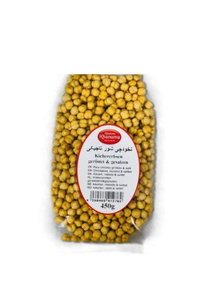 Roasted chickpeas Tajikistan with salt 450g