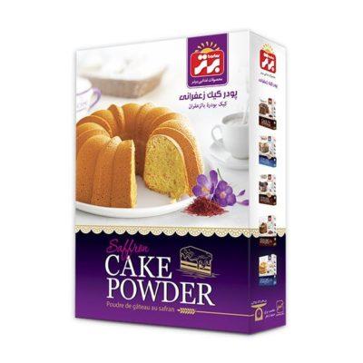 پودر کیک زعفرانی برتر 450 گرم