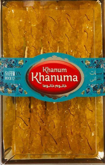 Nabat Saffron Khanum khanuma 170g