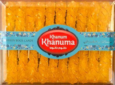 Nabat Saffron Khanum khanuma 340g
